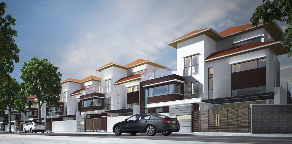 Nhà phố - Sản phẩm đón đầu xu hướng tại Golden City An Giang