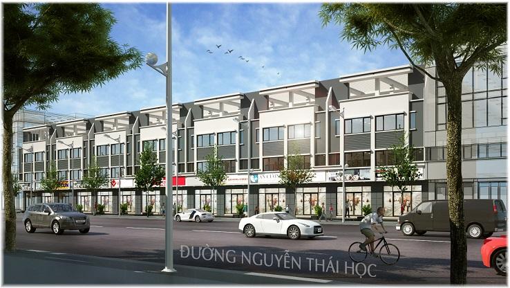 Nha pho thuong mai Golden City An Giang