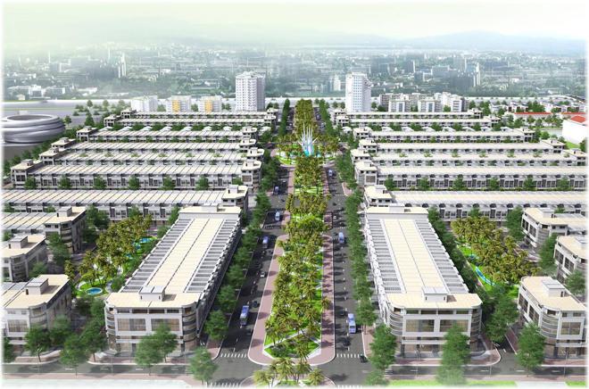 golden City An Giang - khu do thi