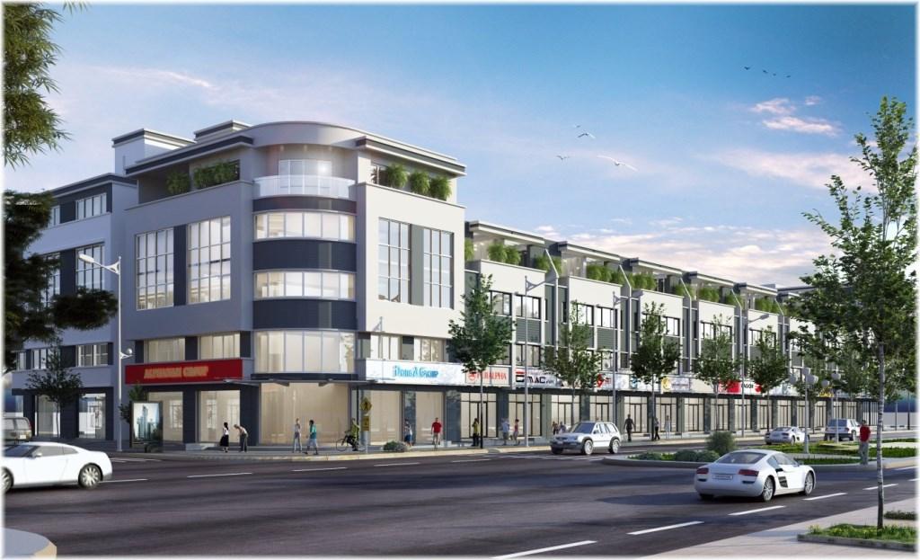 Mô hình nhà phố thương mại tại Golden City An Giang rất phù hợp để làm văn phòng cho thuê